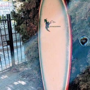6'6 Single Fin Vintage Surfboard for Sale in Los Angeles, CA
