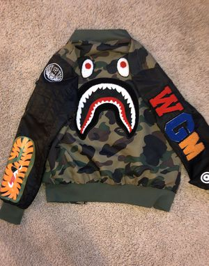 Bape flight jacket youth M for Sale in Frisco, TX