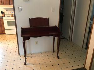 Cherry wood desk for Sale in Halifax, VA