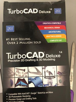 Turbo CIG deluxe 14 precision to D drafting in 3-D modeling for Sale in Avondale, AZ