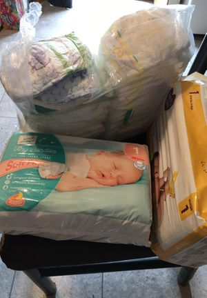 Size 1 diapers for Sale in Buckley, MI