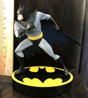 BATMAN STATUE removible faces action figure toys for Sale in Grand Prairie, TX