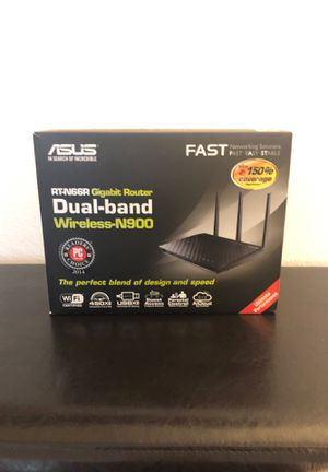 ASUS wireless router for Sale in Sully Station, VA