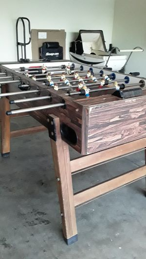Vintage foozball table for Sale in Oakdale, CA