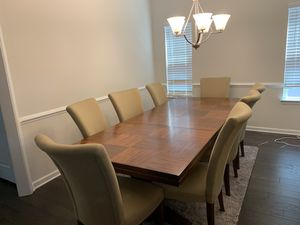 Formal Dining table with 8 chairs for Sale in Charlottesville, VA