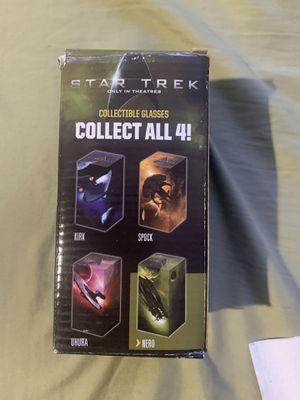 Star Trek Collectible Glasses - Nero & Uhura for Sale in Wilmington, NC