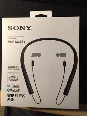 Sony Bluetooth upgrade cable for any MMXC connector headphones for Sale in Pearland, TX