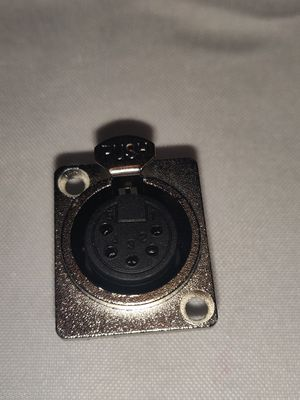 5-pole female XLR panel connector for Sale in Molalla, OR