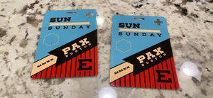 2 Pax East Tickets (Sunday) $60/each for Sale in Lexington, MA