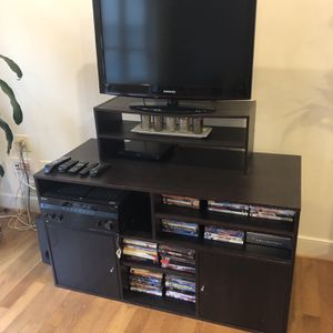 TV Stand (Black) for Sale in Washington, DC