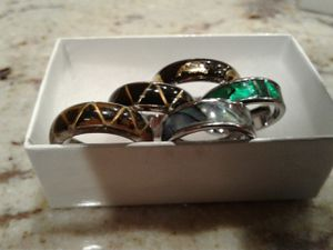 Rings different sizes. $5 each for Sale in Schaumburg, IL