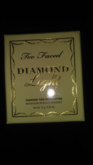 Too Faced Diamond light highlighter for Sale in Arcadia, CA