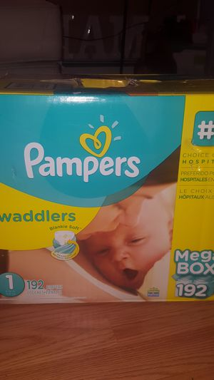 Pampers Swaddlers 192 ct Sz 1 for Sale in The Bronx, NY