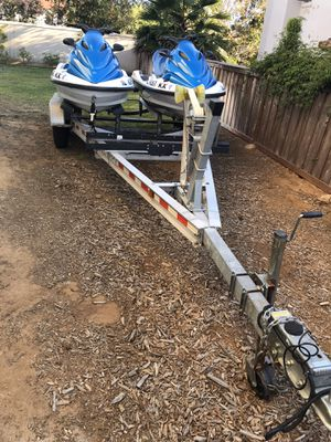 Tandem Axle Aluminum Boat Trailer for Sale in Carlsbad, CA