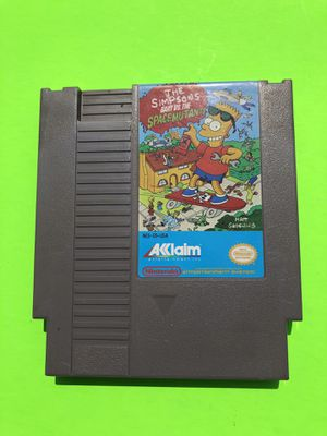 Original Nintendo NES The Simpson's: Bart VS the Space Mutants for Sale in Missoula, MT