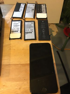 Samsung and iPhone Batteries and Broken Screen for Sale in Columbus, OH