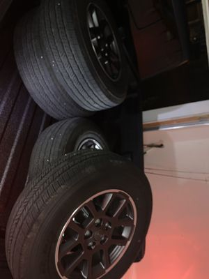 Jeep wheels/tires for Sale in Arlington, TX