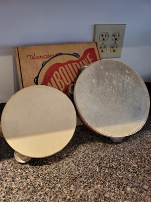 Vintage tambourine set for Sale in Northumberland, PA