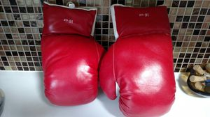 16 oz boxing gloves with laces for Sale in Rochester, NY