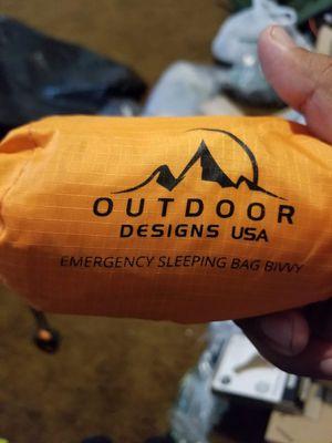 Outdoor emergency sleeping bag for Sale in Fresno, CA