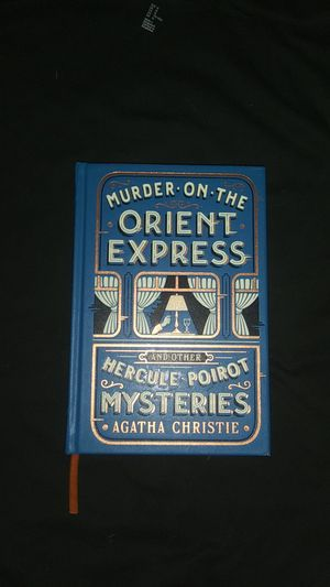 Murder on the Orient Express and Other Hercule Poirot Mysteries Hardcover Book for Sale in Las Vegas, NV