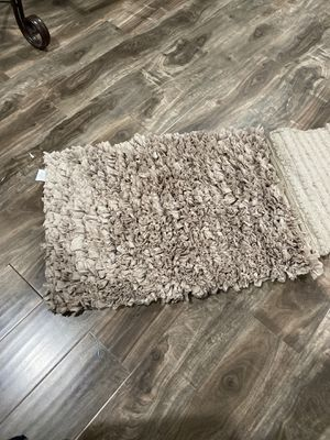 Shaggy mats set for Sale in Fontana, CA