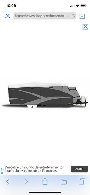 """ADCO All Climate + Wind Designer Tyvek RV Cover - Travel Trailer, 20'1"""" - 22'. New. Valued at $392 for Sale in Dallas, GA"""
