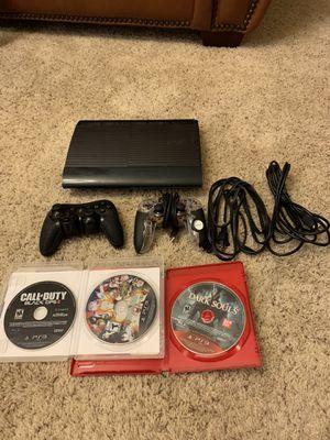 PS3 Super Slim 500GB Mega Bundle for Sale in Peoria, AZ