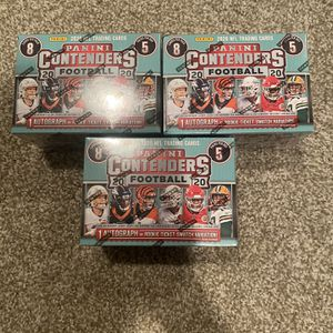 Panini Contenders Blaster Boxes for Sale in Sunnyvale, CA