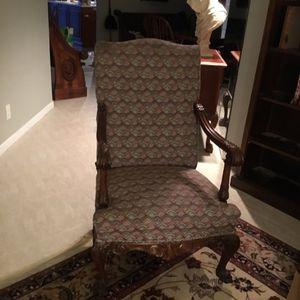 Irish Queen Anne antique chair for Sale in Tamarac, FL