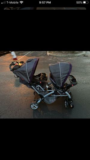 Baby trend sit and stand double stroller for Sale in Bay Lake, FL