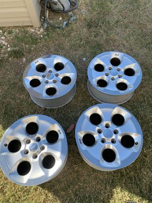 "18"" jeep stock wheels for Sale in Austin, TX"