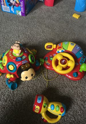Vtech educational learning toys with music and sound for Sale in Campbell, CA