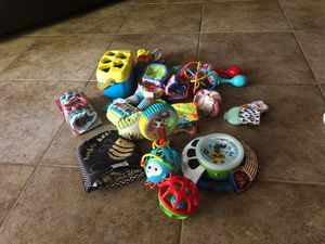 Newborn Toys, rattles, Sensory toys for Sale in Chandler, AZ