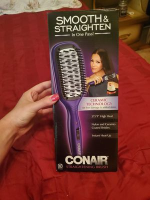 NIB Conair Smooth and Straighten Brush for Sale in NEW CUMBERLND, PA