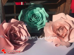 Roses Paper Flower for Sale in Lakeland, FL