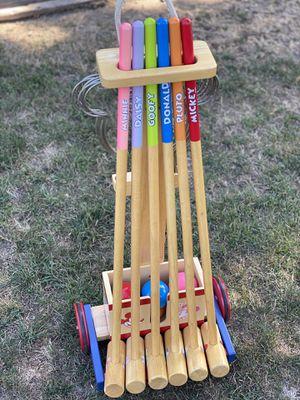 Disney kids croquet set for Sale in Milpitas, CA