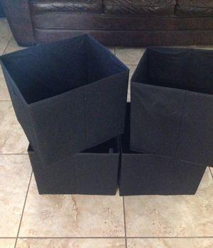 4 pack foldable cubes bin organizer for Sale in Las Vegas, NV