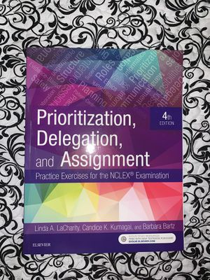 Prioritization, Delegation, and Assignment: Practice Exercises for the NCLEX Examination for Sale in Hialeah, FL