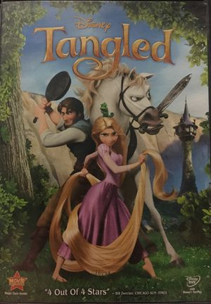 Disney Tangled dvd for Sale in Montclair, CA
