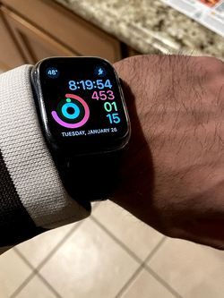 Apple Watch Series 6 44mm Blue GPS for Sale in Fresno,  CA