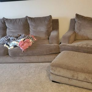 Sofa With Chair And Ottoman for Sale in Boring, OR