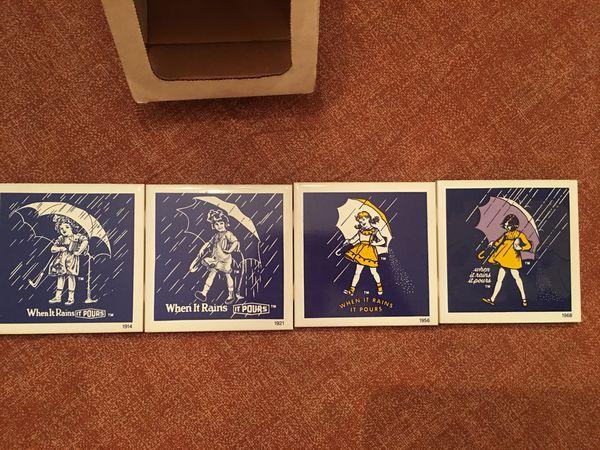 4 Salt Logo Coasters