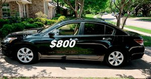 $8OO I sell URGENT my family car 2OO9 Honda Accord Sedan Runs and drives great! Clean title. for Sale in Boston, MA