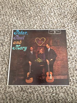 1962 Peter Paul and Mary vinyl album for Sale in Dutton, MI
