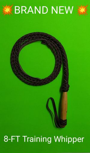 POPULAR ITEM IS BACK! / BRAND NEW 8FT REAL SOUTHWEST LEATHER WHIP / SHIP ONLY ITEM. for Sale in Phoenix, AZ