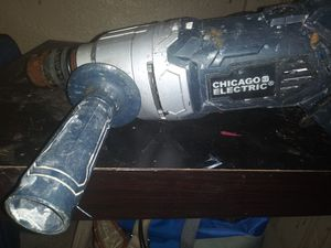 Chicago Electric Power Tools 1/2 Variable Speed Reversible Heavy Duty D-Handle Drill for Sale in Austin, TX