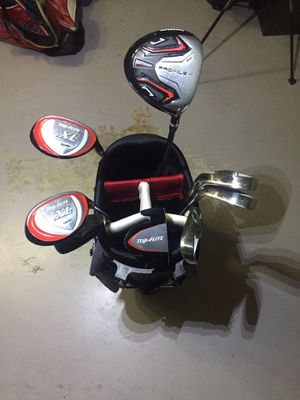 Golf Top Flight Set / Check out my Profile of Drivers, Hybrids, Irons, Putters, Wedges & Golf Club Sets for Sale in Hialeah, FL