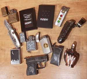 10 buetaine lighters (zippo) for Sale in Keyport, WA