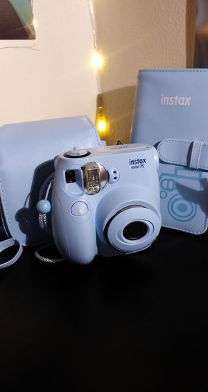 Instax Mini 7S Polaroid Camera   Full Set for Sale in Orange, CA